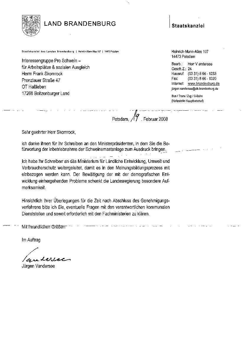 pro-schwein-hassleben.de - briefe, Einladung