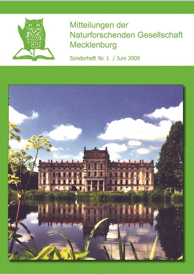 Mitteilungen der Naturforschenden Gesellschaft Mecklenburg - Sonderheft Nr. 1 / Juni 2009