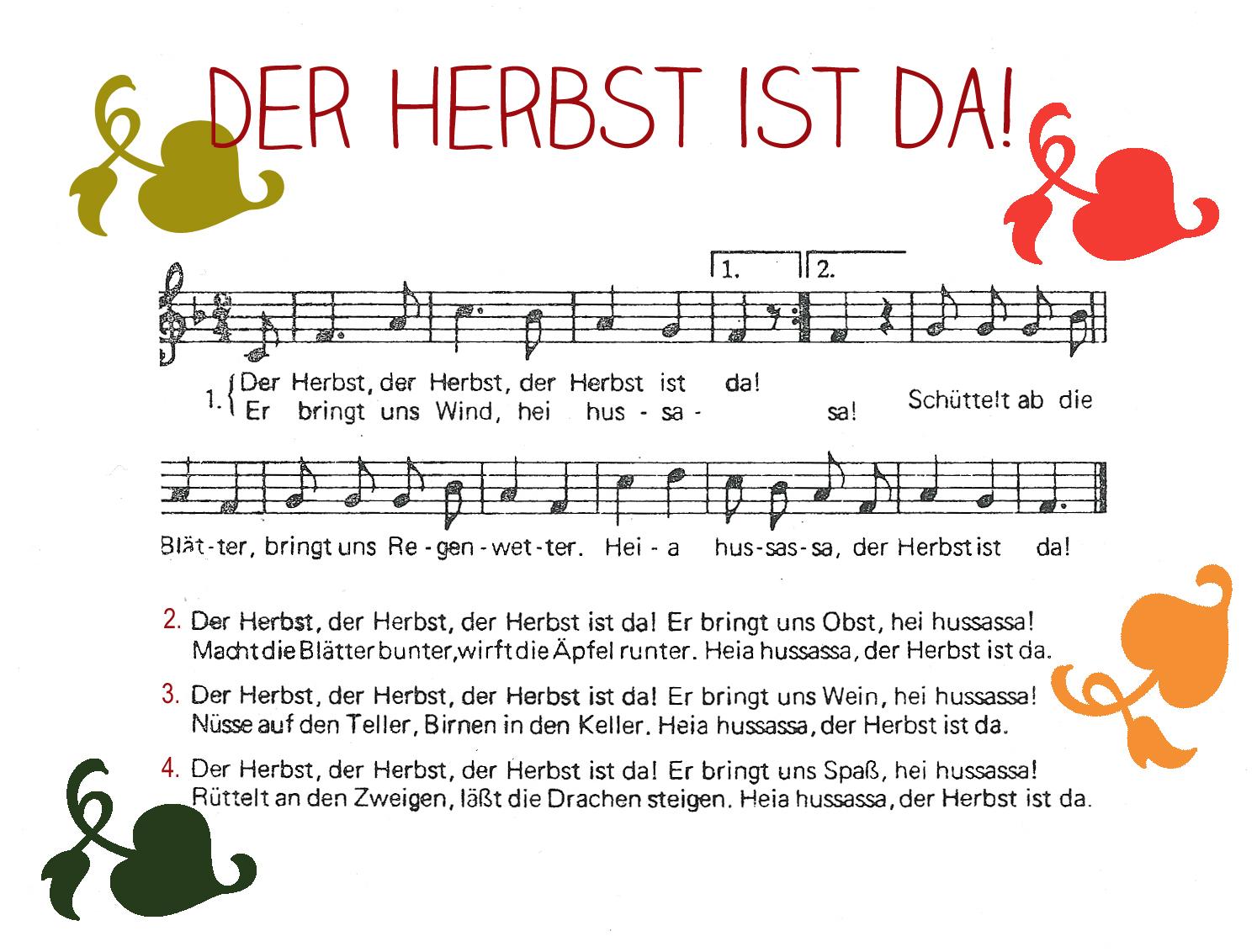 abbastanza Canti e filastrocche in tedesco | Imparare in piedi TS94
