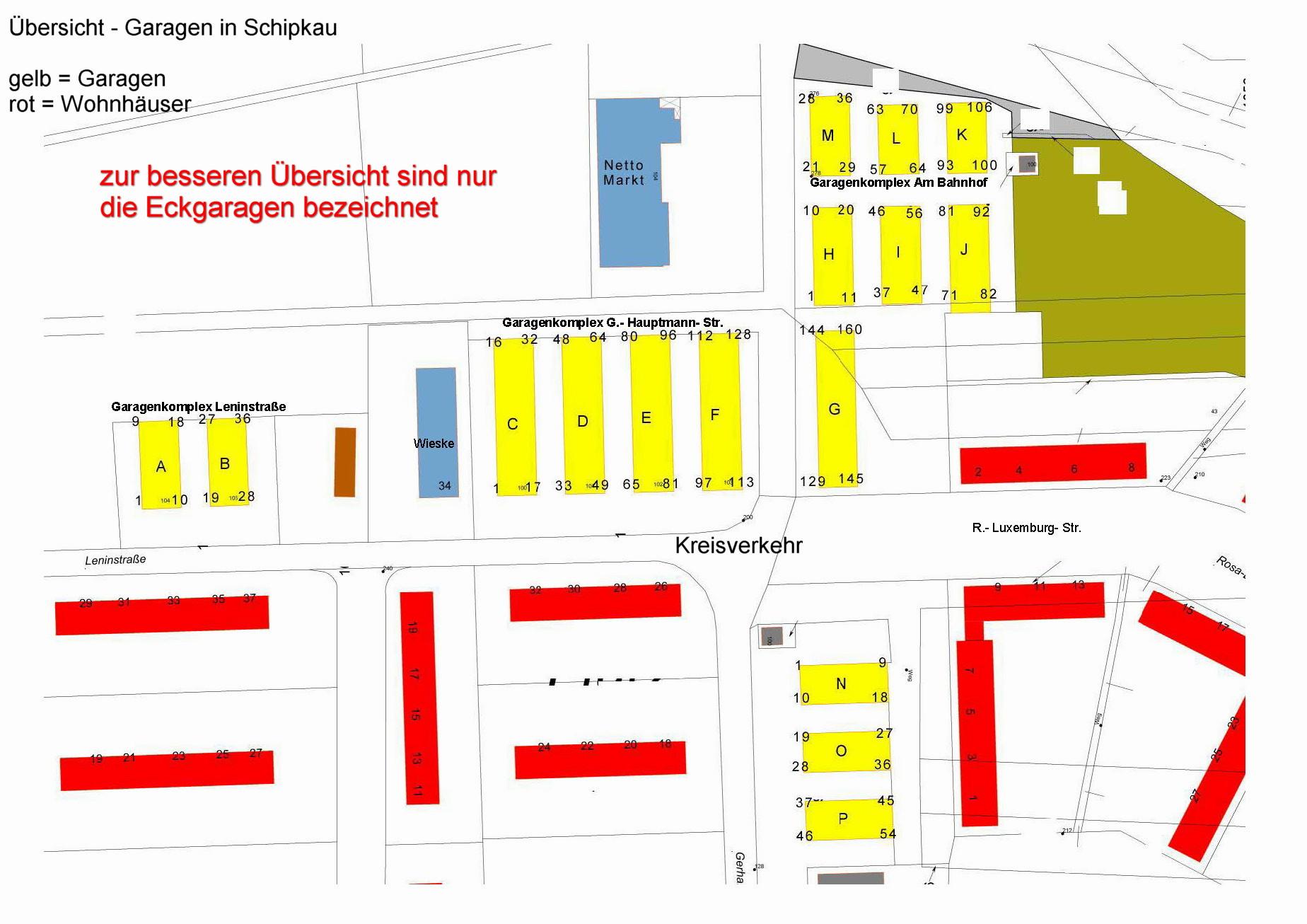 Gemeinde Schipkau Garagen Auf Fremden Grund Und Boden