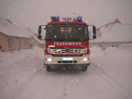 Schneeeinsatz