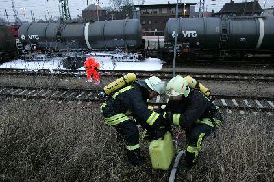 Leck legt Zugverkehr lahm