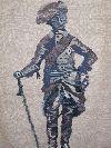 geschichtlicher Wandteppich