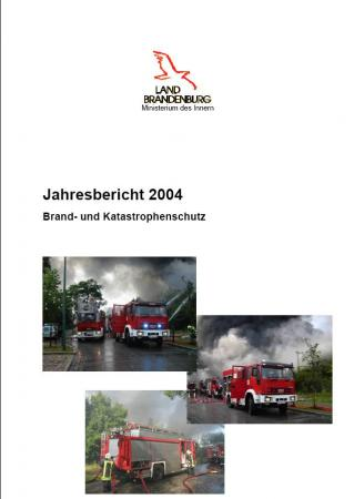 Jahresbericht Brand- und Katastrophenschutz 2004