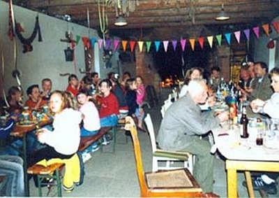 Feier im Buschbackhaus