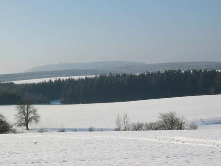 Der Auerberg im Winter