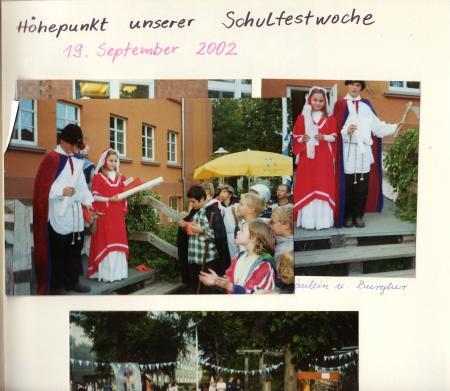 Schulfest 2002