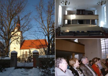 Kirche Innenbereich