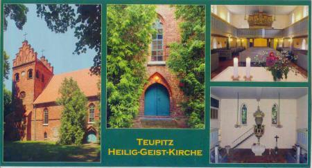 Postkarte Heilig-Geist-Kirche 2009
