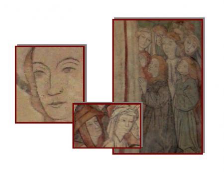 Details aus dem Freskenzyklus