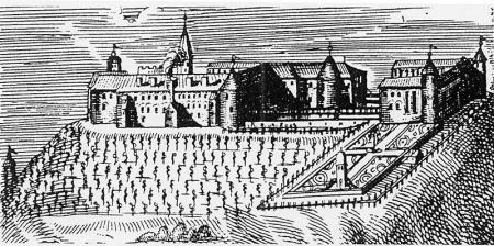 Schloss Ortenburg , Stich von 1567