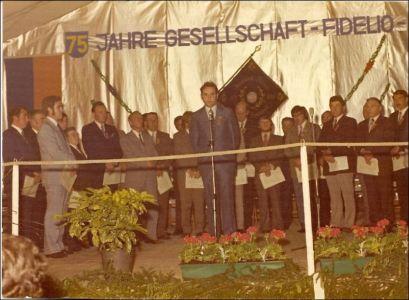 Festansprache zur 75. Jahresfeier