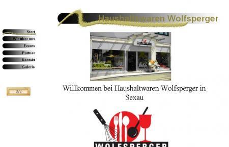 Haushaltwaren Wolfsperger