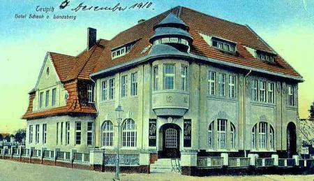 """""""Schenk von Landsberg"""", Postkarte  1910"""