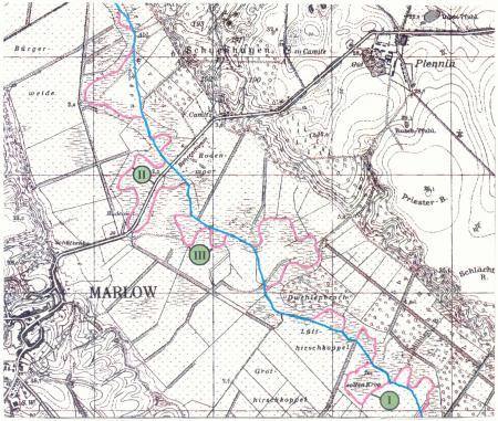 Karte Recknitz