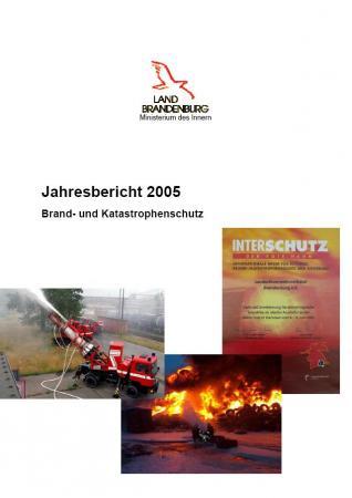 Jahresbericht Brand- und Katastrophenschutz 2005