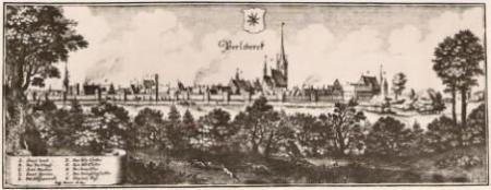 Stadtansicht um 1630