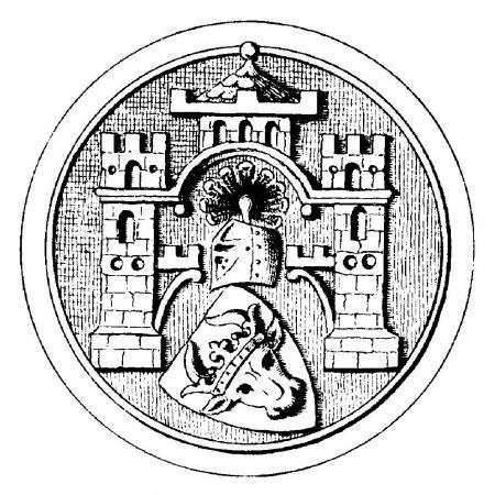 Wappen Ende 19. Jahrh.