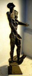 Adam-Skulptur