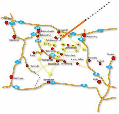 Lage-/Anfahrtsplan