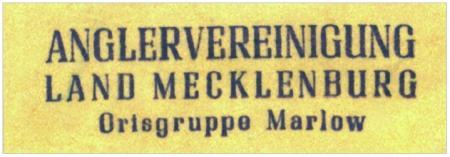 Anglervereinigung Mecklenburg OG Marlow 1