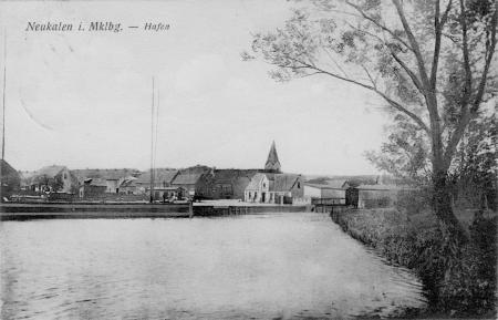 Hafen Ansichtskarte 1916