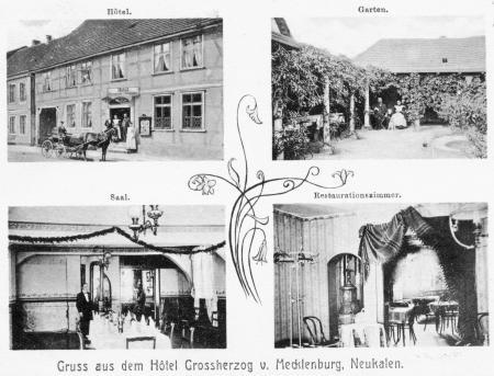Hotel Großherzog von Mecklenburg 1906