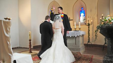 Segnung des Brautpaares