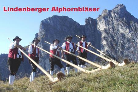 Visitenkarte Lindenberger Alphornbläser