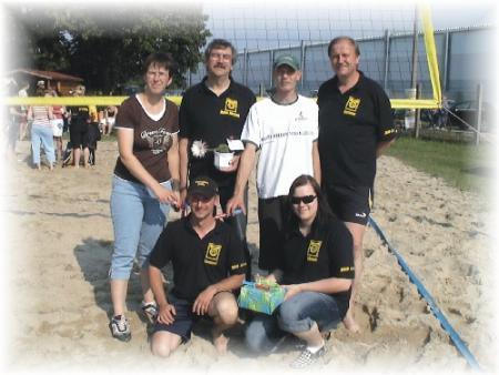 Das Volleyballteam der Kegler