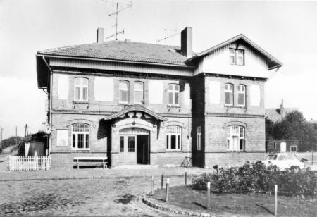 Ansichtskarte Bahnhof 1981