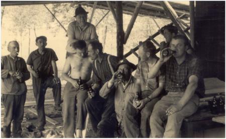 Bau Anglerheim 1966 2