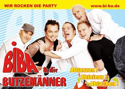 Band Biba und die Butzemänner - Wir rocken die Party