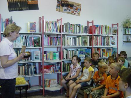 Lesung mit Kindern