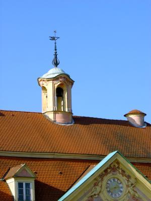 Dach des Gilardi-Anwesens