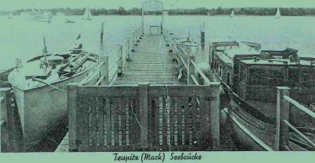 Bohr's Brücke um 1942