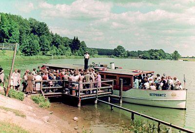Bootsanleger in den 50er