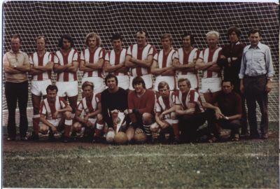 Traktor Häsen Mannschaft von 1975