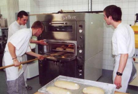 Brote schieben