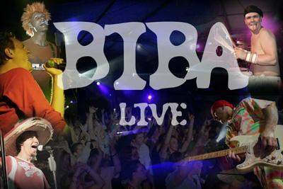 Bildcollage der Band Biba & die Butzemänner