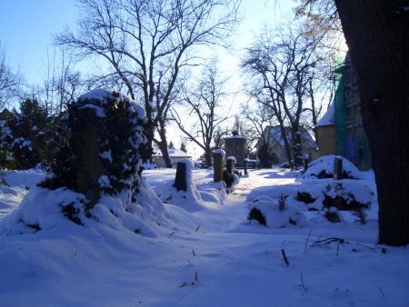 Winter blau