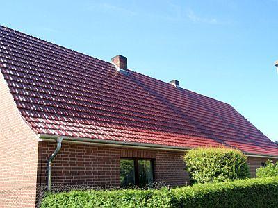 Dacheindeckung in Eldena
