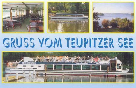 Dahme-Schifffahrt-Teupitz, Postkarte 1993