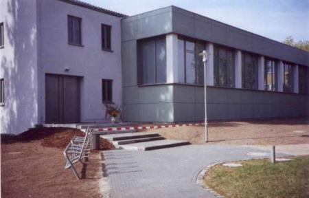 Die Sporthalle in der Caasmacherstraße
