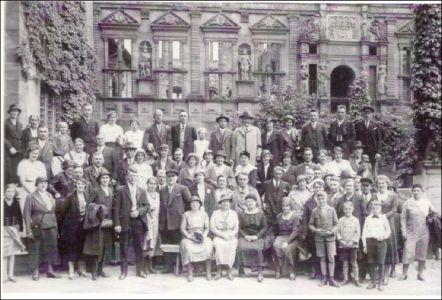 Ausflug nach Heidelberg 1934