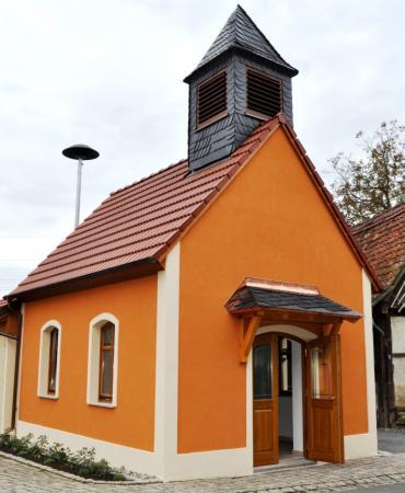 Die Kapelle Heilige Familie Bild 1 Hausansicht