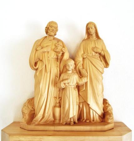 Die Kapelle Heilige Familie Bild 5 Statue der heiligen Famil