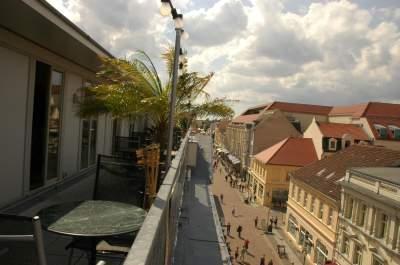 Blick auf die Brandenburger Straße
