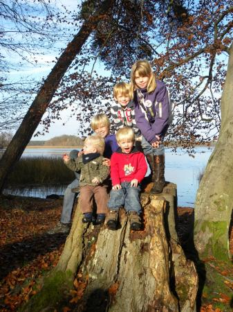 Kinder im Naturpark Stechlin-Ruppiner Land