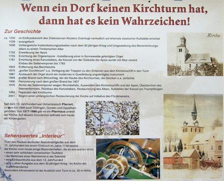 Kirchtafel